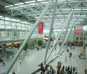 luchthaven Düsseldorf